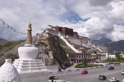 Tibet Tibetan Potala Palace Lhasa China Unesco