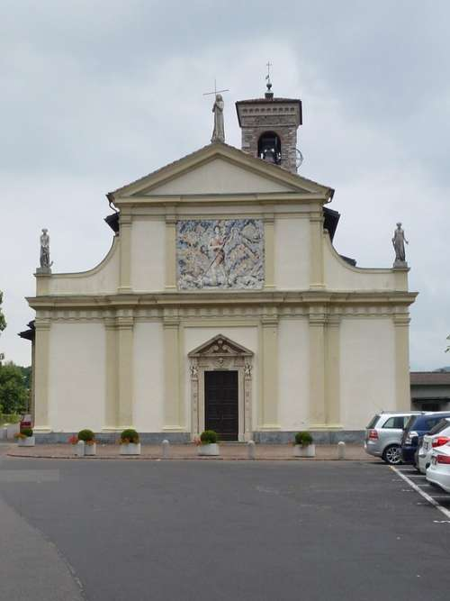 Ticino Caslano Church Religion Building