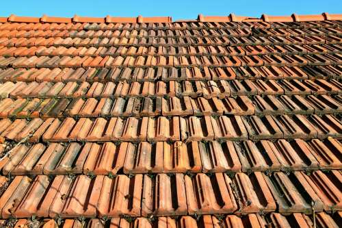 Tile Roof Red Brick Roofing Weather