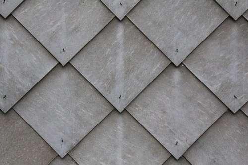 Tile Slate Shingle Diamonds Grey Pattern Wall