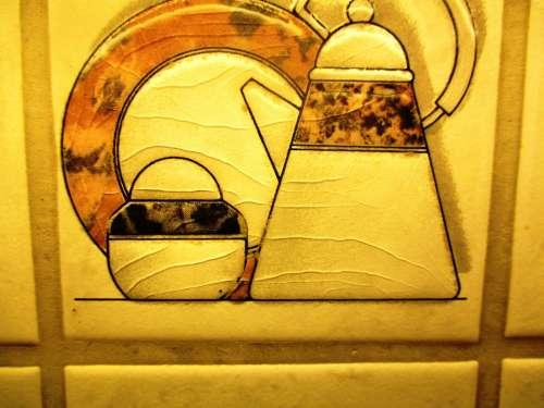 Tiles Tile Decorative Artfully Kitchen Ceramic