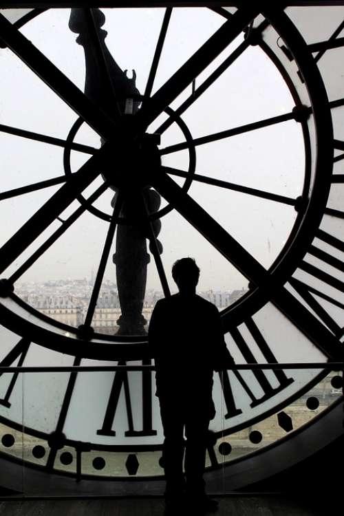 Time Movement Past Forward Human Person Paris