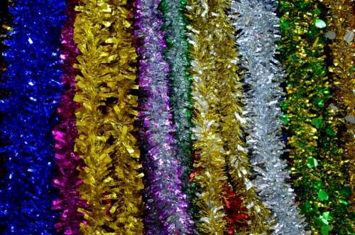 Tinsel Christmas Decoration Sparkle Sparkling