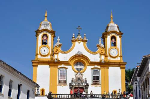 Tiradentes Church Baroque