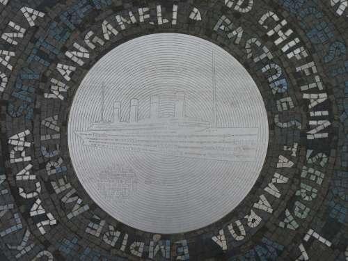 Titanic Plaque Ship Memorial Plaque Cruise