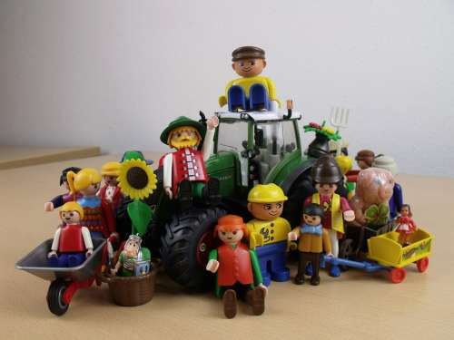 Together We Are Strong Agriculture Playmobil Toys