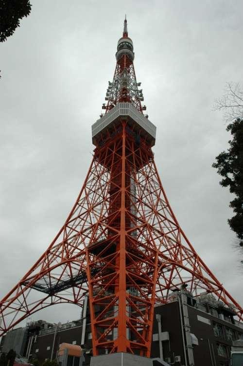 Tokyo Tower Japan Tokyo Eiffel Tower