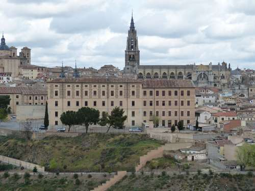 Toledo Spain Castile Church Cathedral
