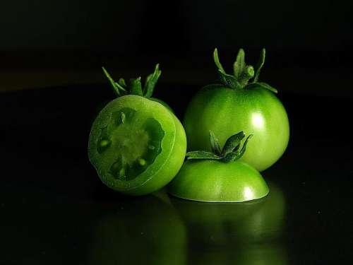 Tomatoes Green Tomato Vegetables Plants Flora