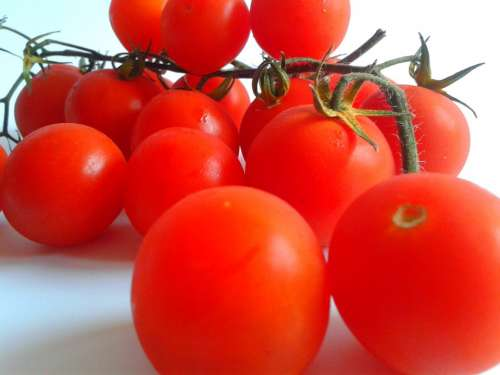 Tomatoes Cocktail Vegetables Spray Red Health
