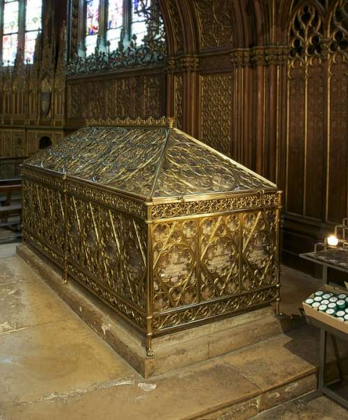 Tomb Saint Genevieve Church St Etienne Paris
