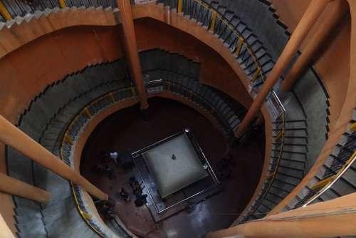 Tomb Of Basavanna Kudalasangama Staircase
