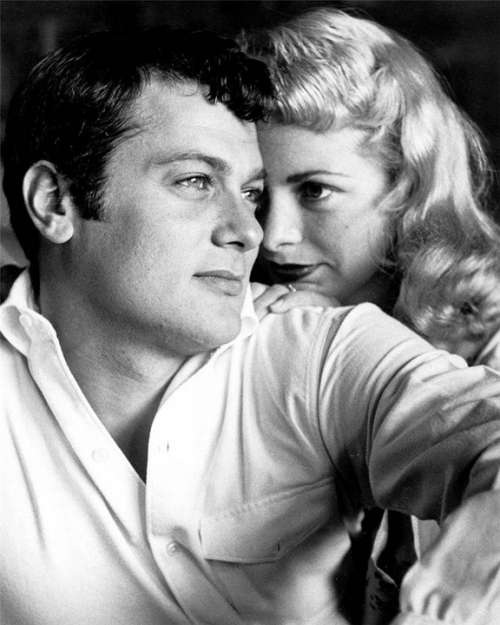 Tony Curtis Janet Leigh Actor Actress Film Movies