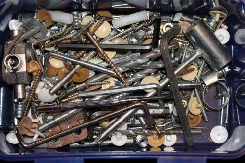 Tool Box Screw Screwdriver Tool Craftsmen Drill