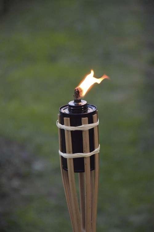 Torch Flame Fire Hot Barbecue Burn