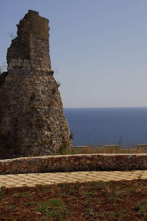 Torre Coastal Tower Salento Puglia Nelsalento Sea
