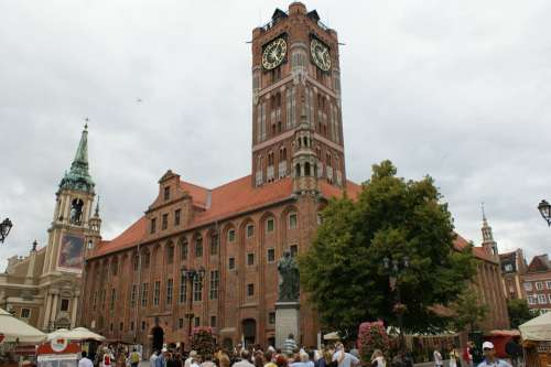 Torun Poland Cast Europe Travel Town Building