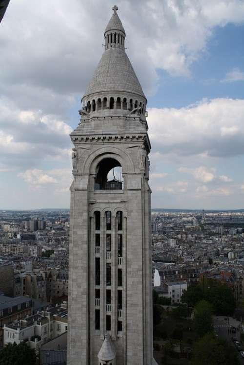 Tower City French Paris Sky Notre Dame