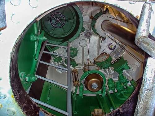 Tower Ladder Hatch Submarine European Mink