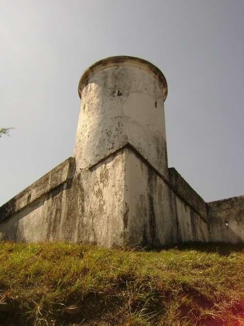 Tower Castle Fortress Torrione Baluarte