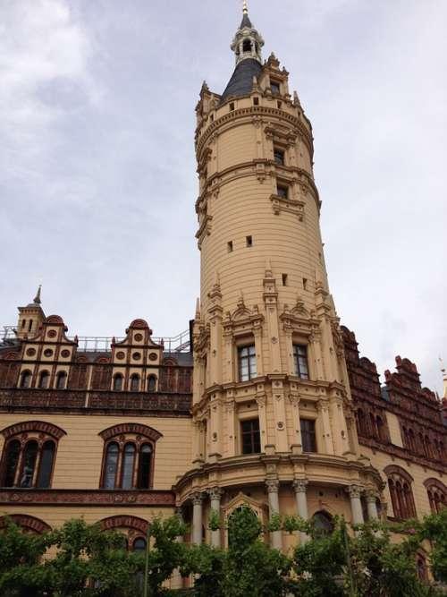 Tower Schwerin Mecklenburg Western Pomerania