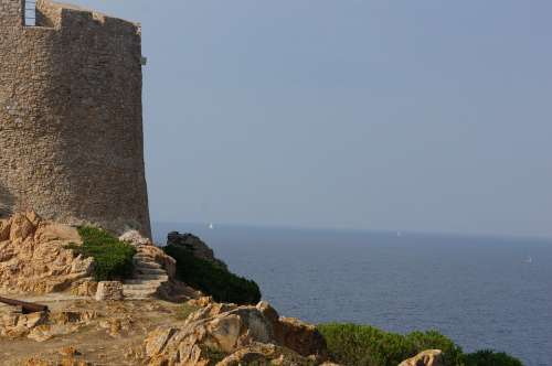 Tower Sea Coast Castle Old Water