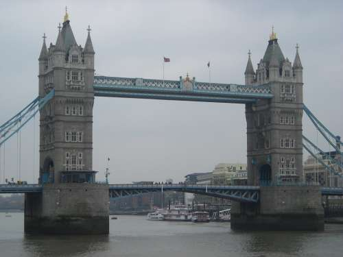 Tower Bridge London Bridge River