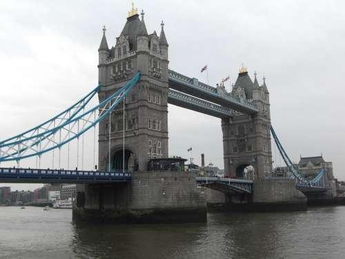 Tower Bridge London England United Kingdom Bridge