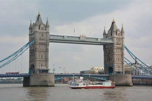 Tower Bridge London Bridge River Thames