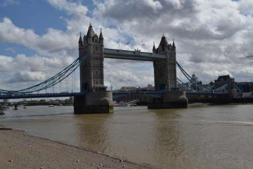 Tower Bridge River Thames London