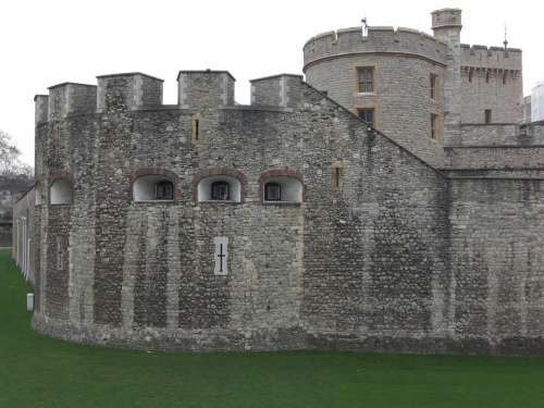 Tower Of London Fortress Middle Ages London England