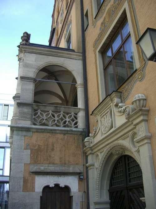 Town Hall Registry Office Ulm Building Facade