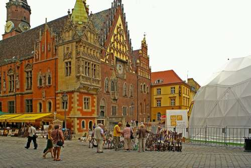 Town Hall Wrocław The City Centre Lower Silesia