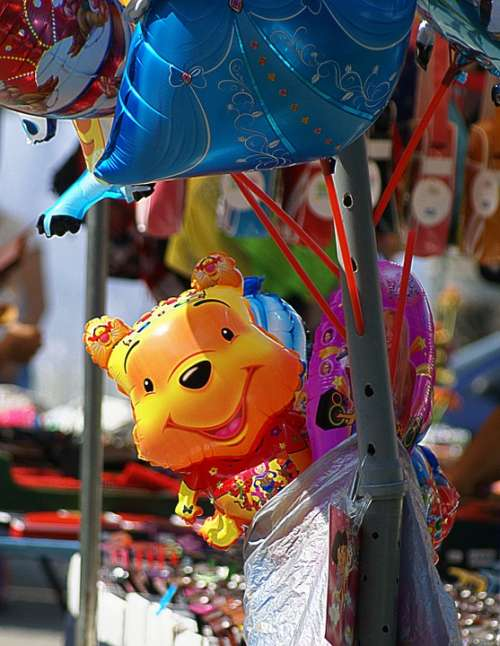 Toy Inflatable Colorful Balloons Fair Exhibition