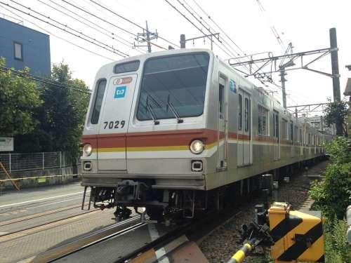 Toyoko Electric Train Lead Vehicle