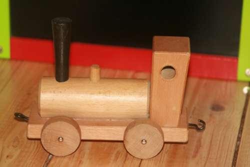 Toys Wooden Railway Build Play Wood Children