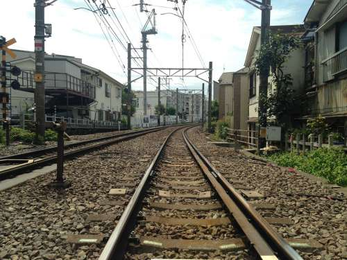 Track Toyoko From Crossing