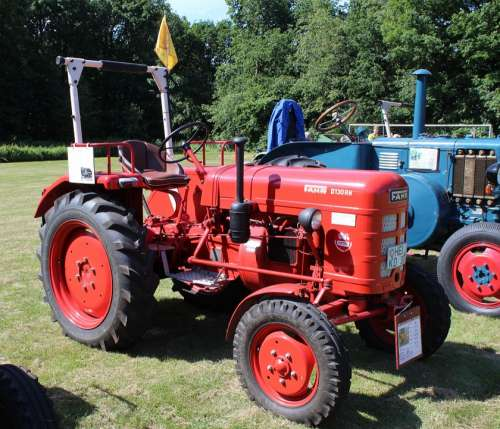 Tractor Tractors Commercial Vehicle Agriculture