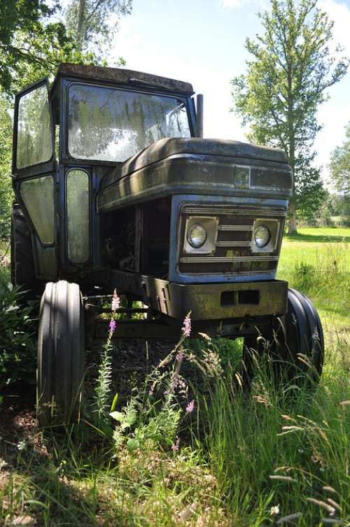Tractor Vintage Leyland Machinery Agriculture