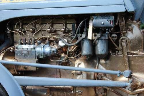 Tractor Engine Engine Block Motor Oldtimer