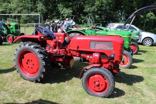 Tractors Oldtimer Commercial Vehicle Agriculture