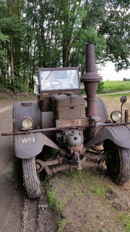 Tractors Tractor Historically Vehicle Bulldog Lanz
