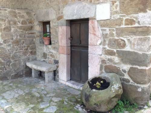 Traditional Architecture Proaza Asturias Stone