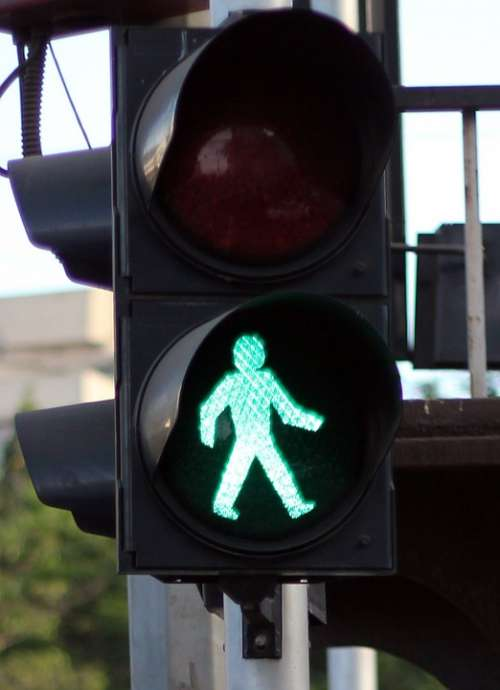 Traffic Lights Green Walk Go Sign Traffic Signal