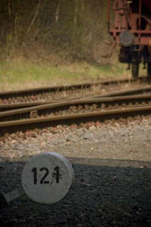 Train Old Shut Down Gleise Track Rails