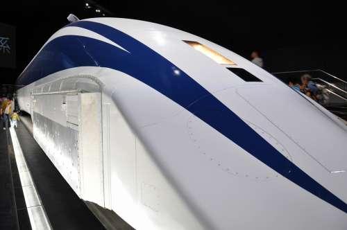 Train Linear Train Japan Locomotive Railway Speed