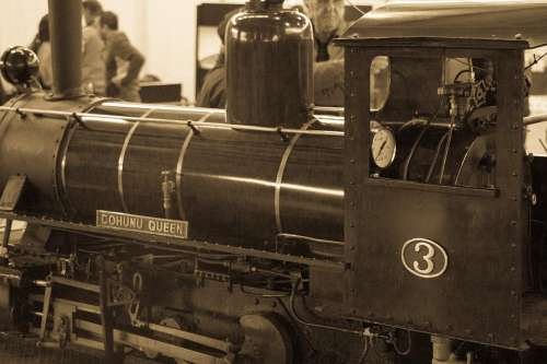 Train Old Loco Nostalgia Railway Steam Locomotive