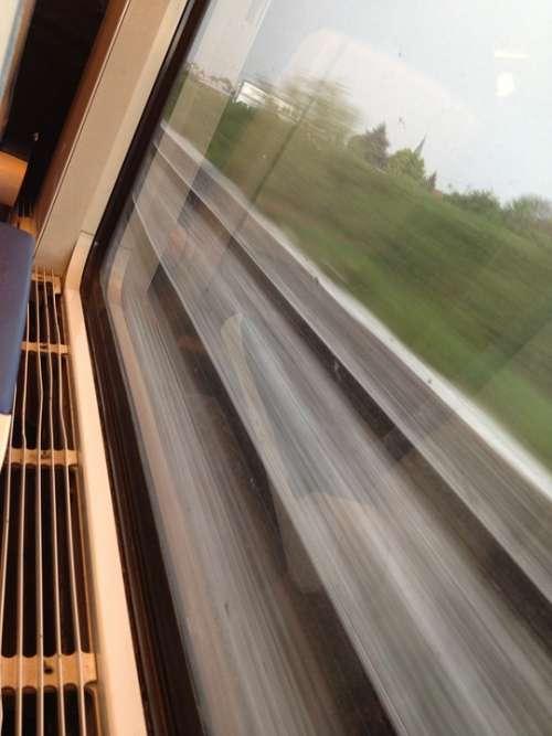 Train Railway Locomotive Transport