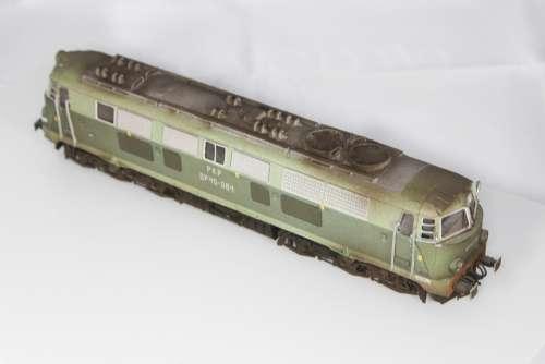 Train Railway Locomotive Metal Su 45