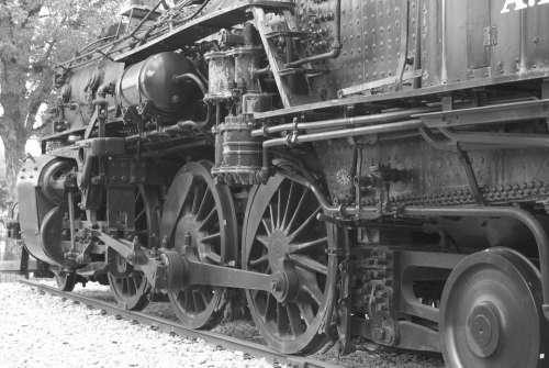Train Wheels Travel Choo Choo Locomotive